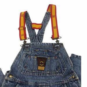 Bugle Boy Men's Denim Carpenter Overall Jeans